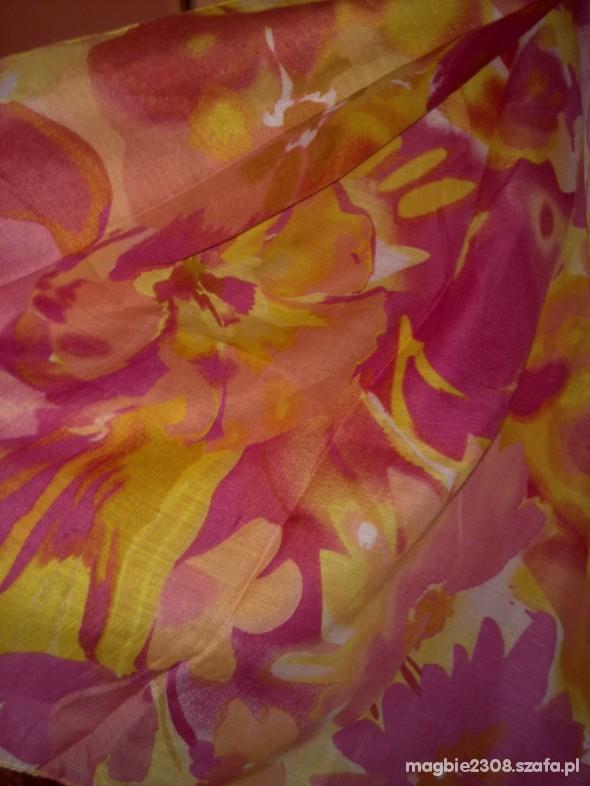 Chusty i apaszki chusta apaszka floral