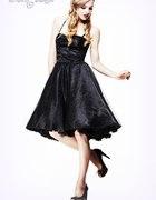 Sukienka PIN UP Lata 50 Goth Hell Bunny DarkCameo