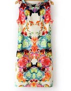 sukienka kwiaty floral h&m