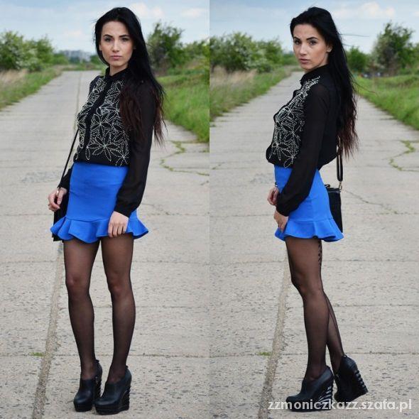 Blogerek blue and black