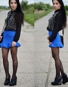 blue and black...