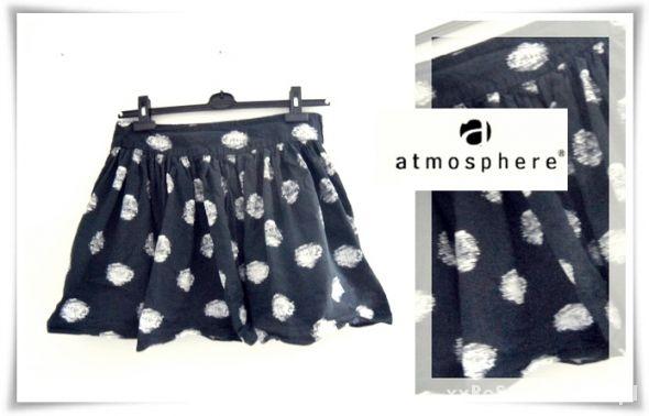 Spódnice Atmosphere Rozkloszowana Spódniczka Grochy 40 42
