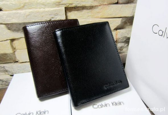 745b6ede96f38 Męski skózany portfel Calvin Klein w Portfele - Szafa.pl