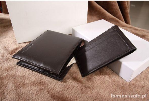 7d84624141492 Męski portfel Calvin Klein CK brązowy czarny w Portfele - Szafa.pl