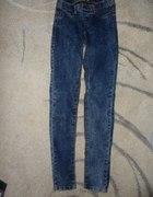 Marmurkowe spodnie Pull&Bear 36