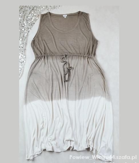 ombre sukienka...
