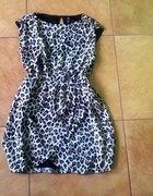 Panterkowa sukienka 42 HiM