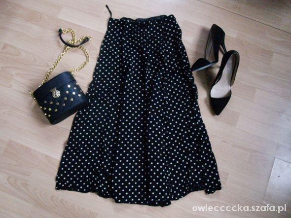 Spódnice maxi dress kropeczki S M
