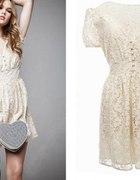 sukienka vintage lata 50 60...