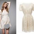 sukienka vintage lata 50 60