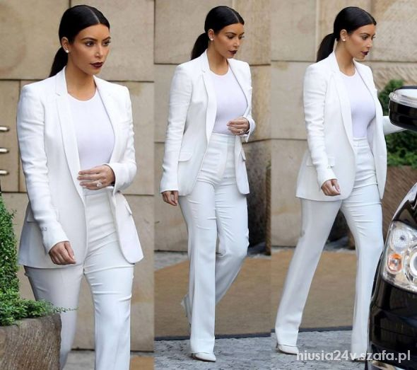 Eleganckie kim kardashian nowe oblicze