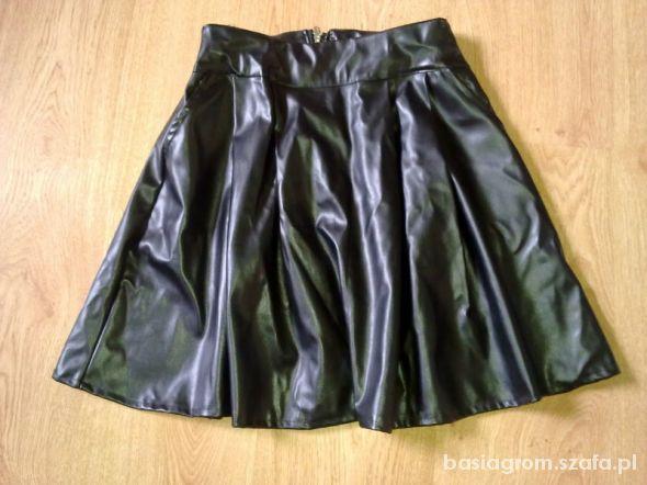 Spódnice spódnica ECO skóra S M