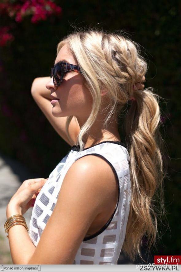 Fryzury blond