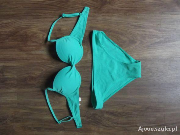Strój kąpielowy zielony CUBUS 34
