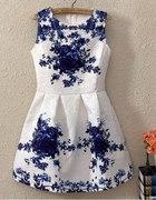 Sukienka żakardowa...