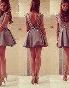 sukienka bez plecow xs