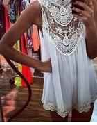 koronkowa biała sukienka CUUUDOOOO
