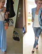 błękit i biel
