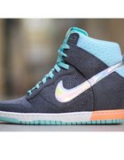 NIKE DUNK SKY HI PRM DARK GREY