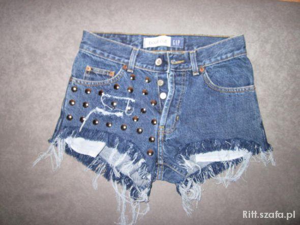 Spodenki Jeansowe DIY