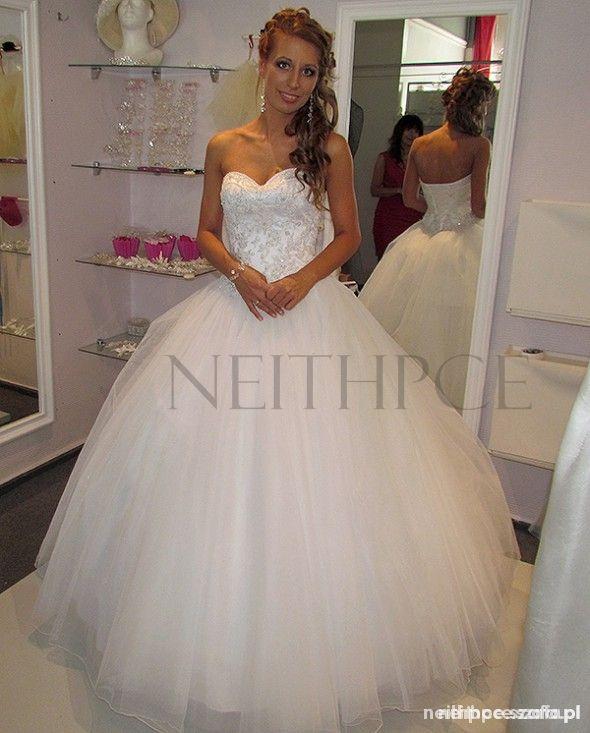 Sincerity 3656 princessa moja piękna ślubna suknia