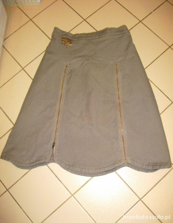 Spódnice rewelacyjna spódnica beż cappuccino 48