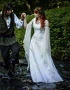 Moja elficka suknia ślubna...