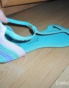 miętowe sandalki Friss and Company