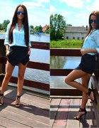 asymmetric shorts...