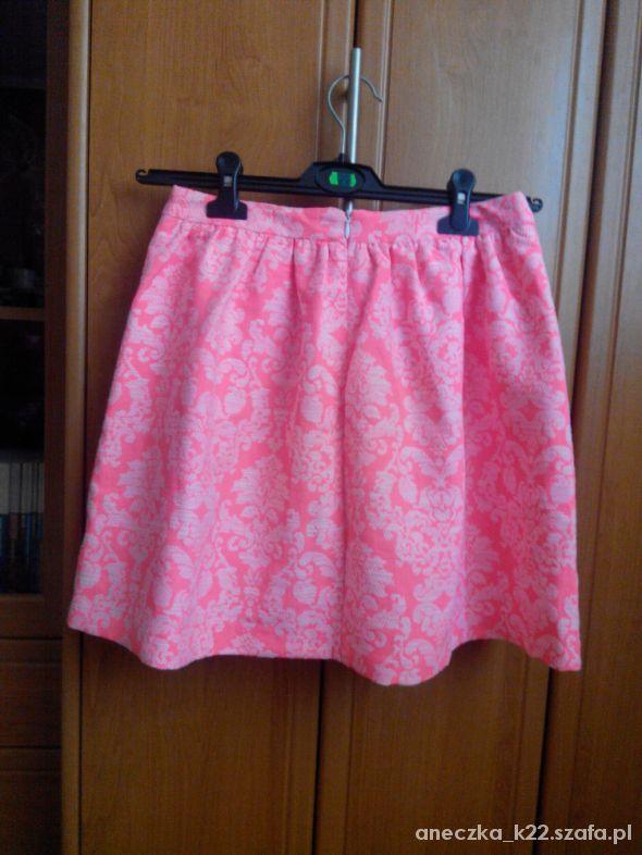 Spódnice Różowa spódniczka jaskrawa
