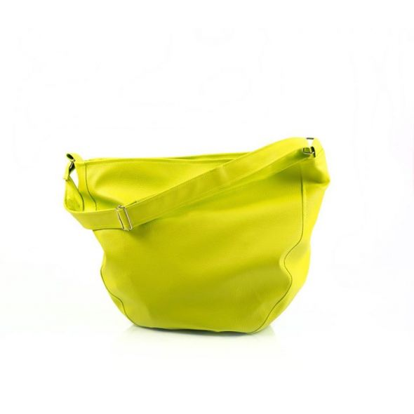 limonkowa torba hobo