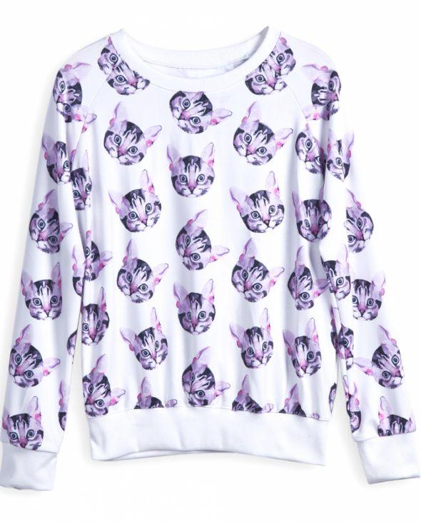 bluza w koty