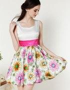 sukienka w kwiaty sheinside