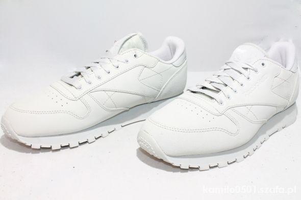 Buty Reebok Classic Leather White 39 40 25 5 w Sportowe
