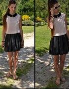 Black & pastel...