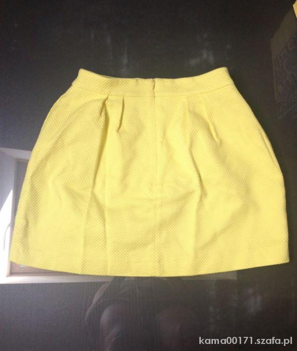 Spódnice Mohito Żółta Spódniczka