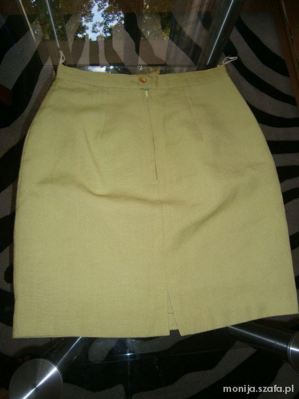 Spódnice pistacjowa spódnica S