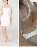 Biała sukienka Mohito...