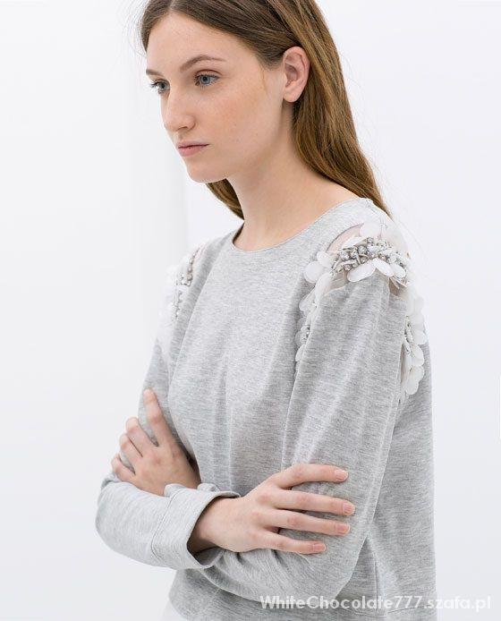 Poszukuje Bluza Zara szara