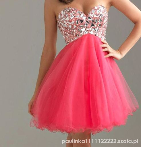 Eleganckie Pink dress
