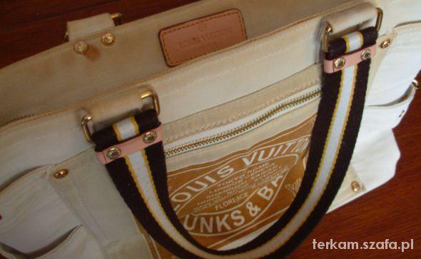 5022ce07caf8e Dżinsowa torba Louis Vuitton Trunks Bags w Torebki na co dzień ...