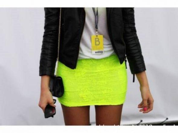 Spódnice spódniczka neon
