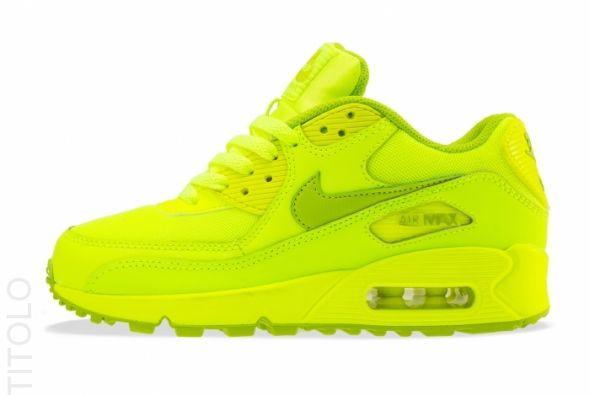 Nike Air Max 90 ULTRA Żółte neon Yellow