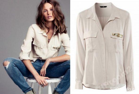 Koszula H&M z kamykami