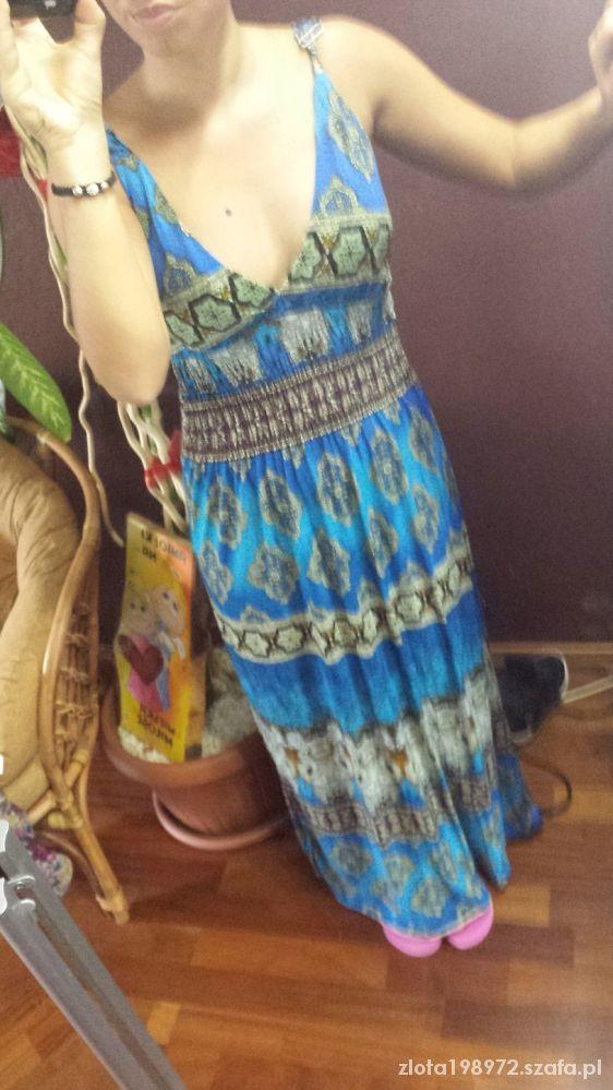 Imprezowe maxi sukienka