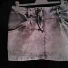 Krótka spódniczka jeansowa