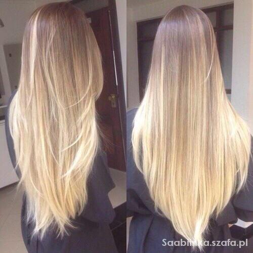 Fryzury blond hair