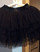 Czarna tiulowa spódnica...