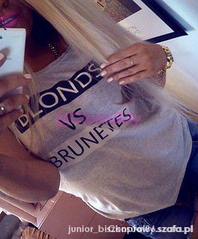 BLONDS VS BRUNETTES
