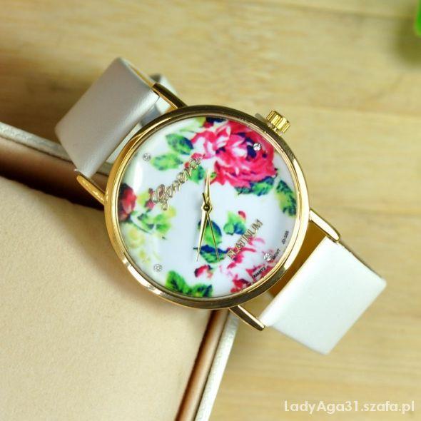 zegarek geneva róże